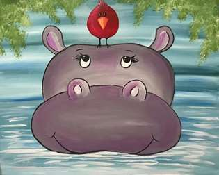 Hanging Out With Hippo