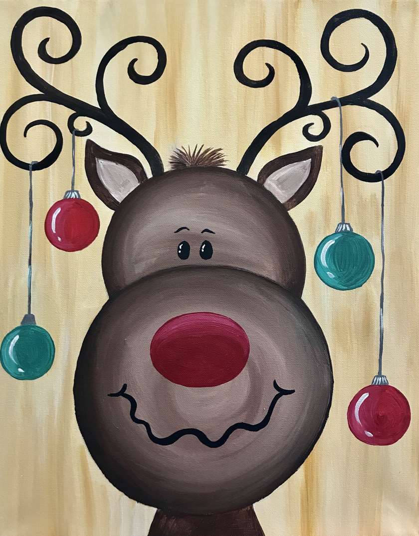 Hanging With Rudolph