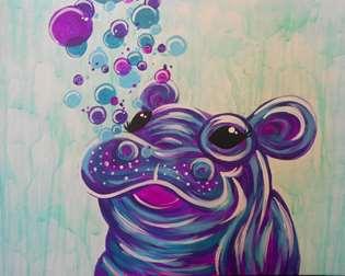 Happy Happy Hippo