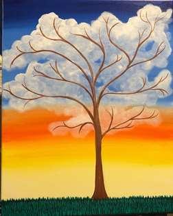 Happy Little Tree