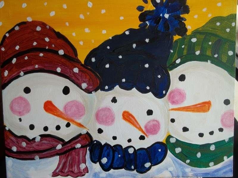 Happy Snowmen