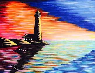 Harbor Sunset
