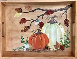 Harvest Blessings Serving Tray