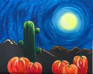 Harvest Desert Moon