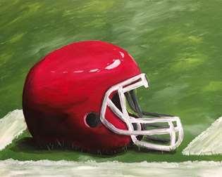 Hash Mark Helmet