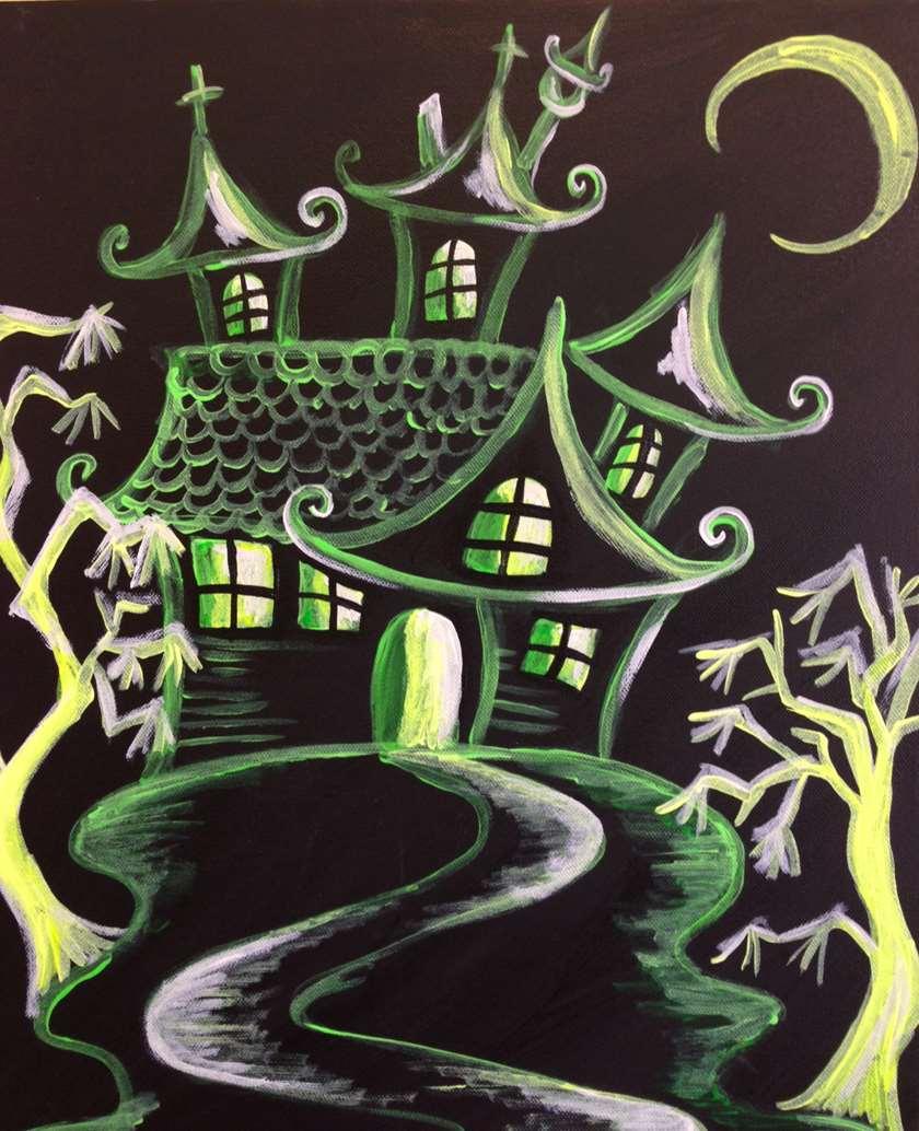 Spooky Blacklight Special!