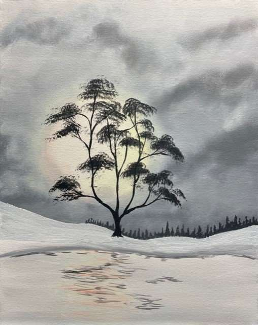 Hazy Tree