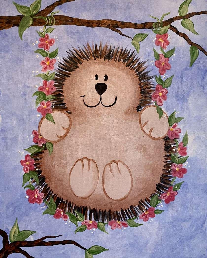 In Studio Event - Hedgehog Fun