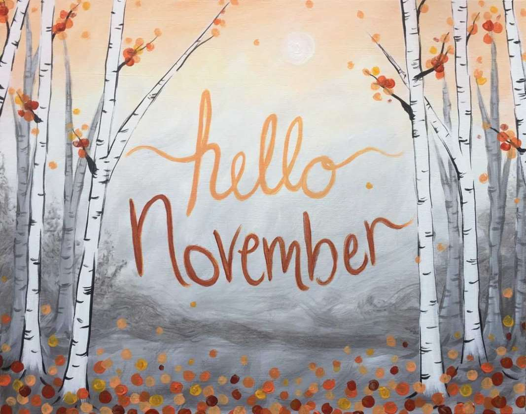 Image result for hello november images