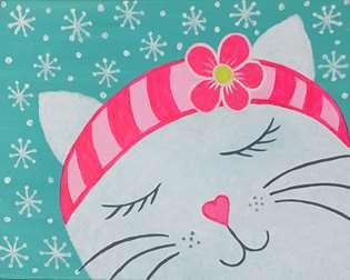 Hello Snow Kitty