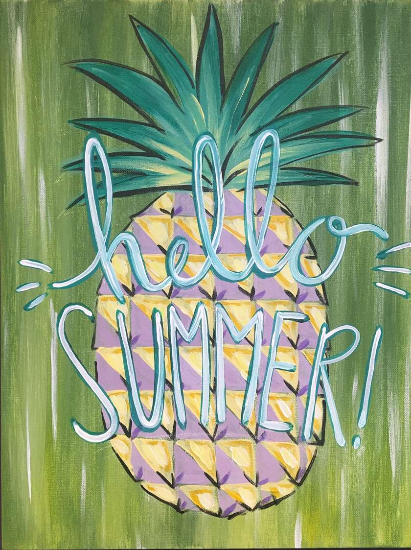 Hello Summer - In Studio Event - Limited Seating Available