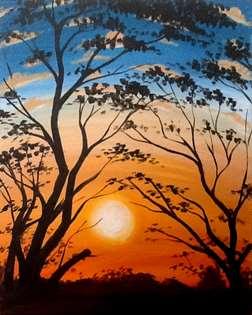 Hilltop Sunset