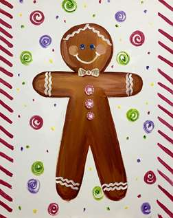 Holiday Gingerbread Man
