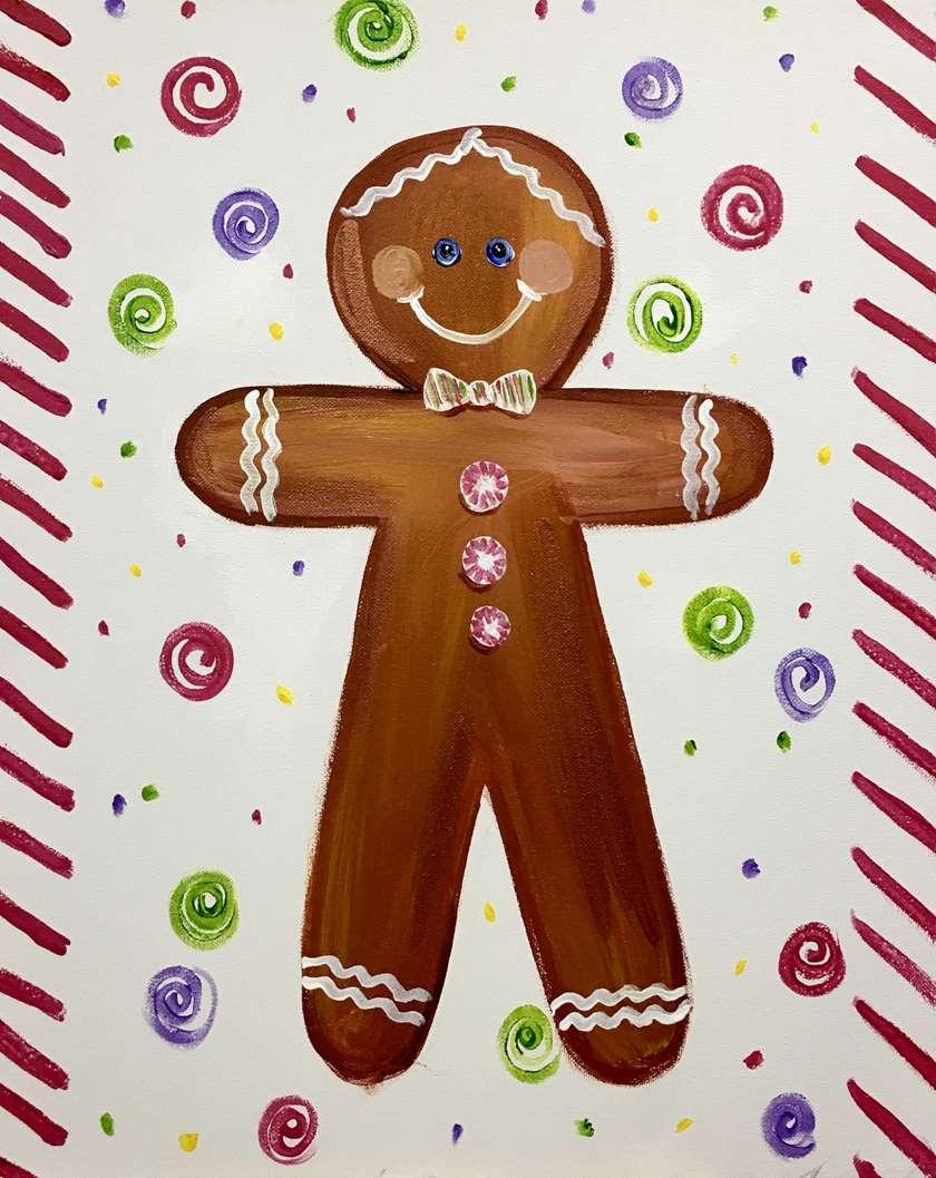 Holiday Gingerbread Man