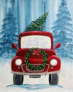 Holiday Vintage Truck