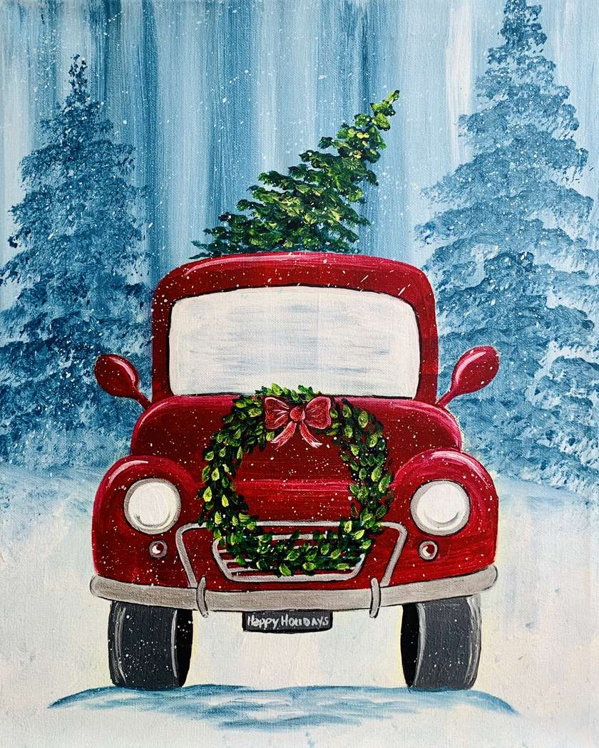 VIRTUAL EVENT  +7 DAYS ON-DEMAND HOLIDAY VINTAE TRUCK