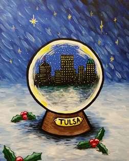 Hometown Snow Globe