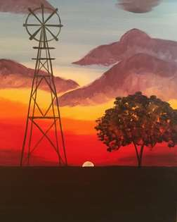 Hometown Sunset