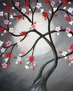 Hope Blossoms in the Moonlight