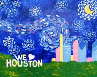 Houston Starry Night