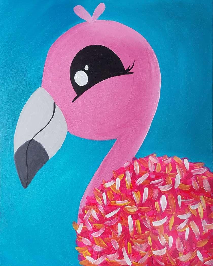 Huggable Flamingo