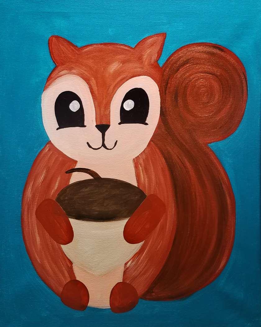 Huggable Squirrel