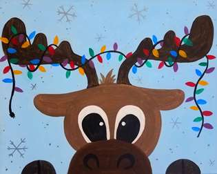 Huggable Tangled Moose