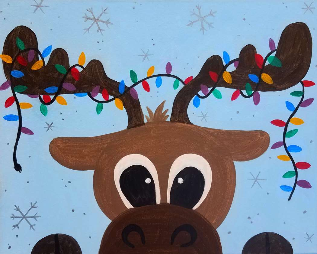 Huggable Tangled Moose - Family Day- Ages 5 and up allowed -Everyone Needs a Reservation