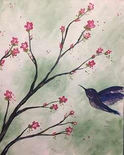 Hummingbird Blossoms