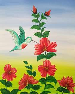 Hummingbird Good Morning