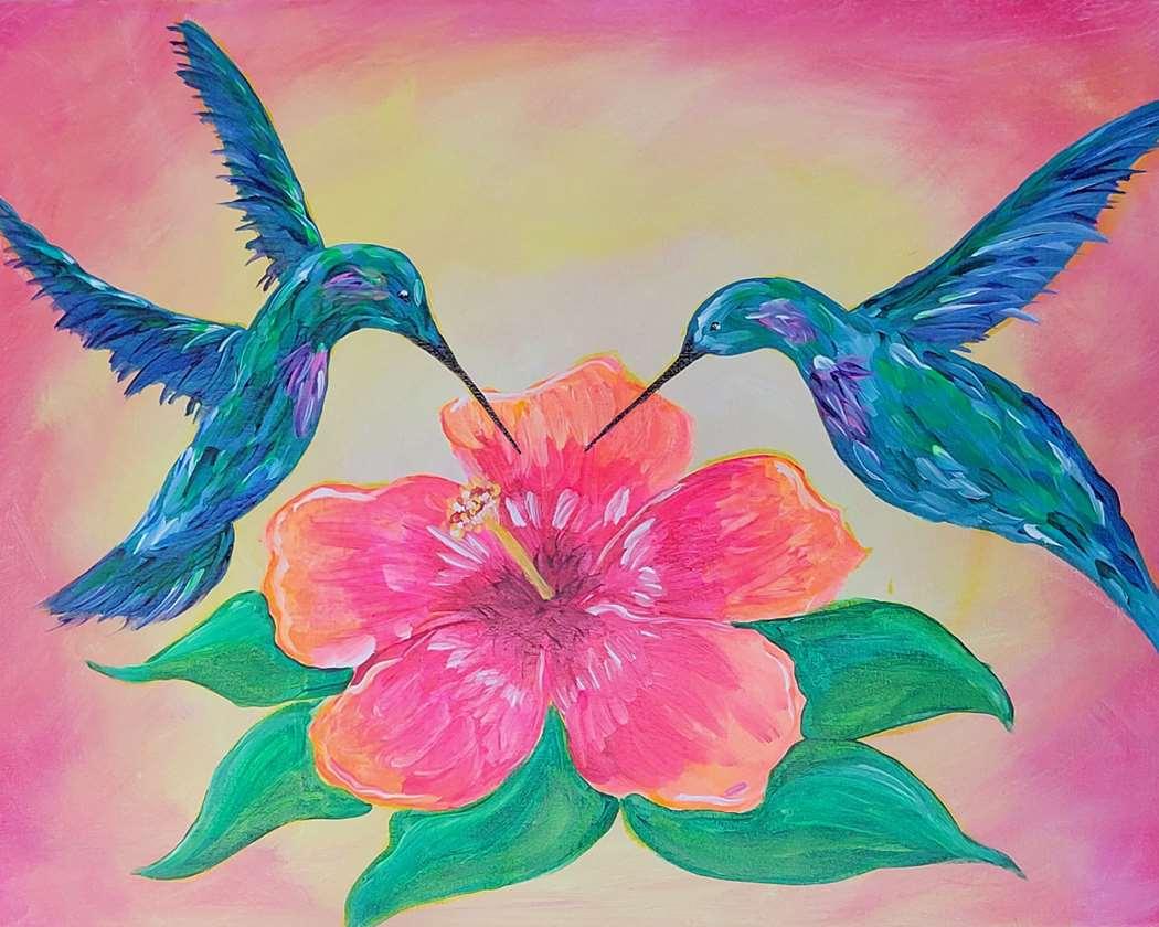 Hummingbird Hibiscus
