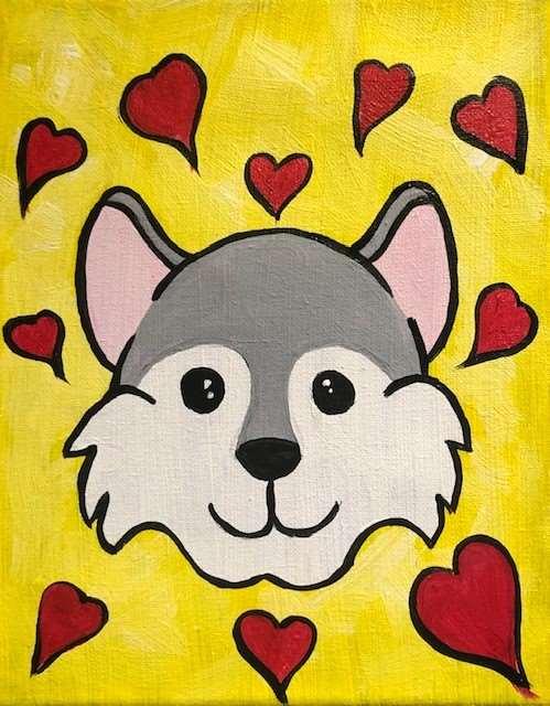 Husky Cub Love