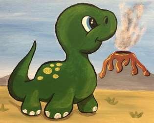I Lava Dino!