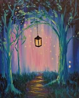 Illuminated Forest