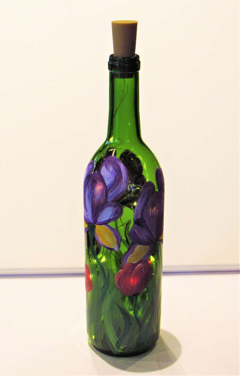 Iris LED Wine Bottle