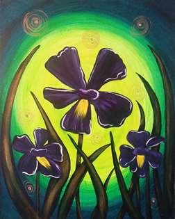 Irises and Fireflies