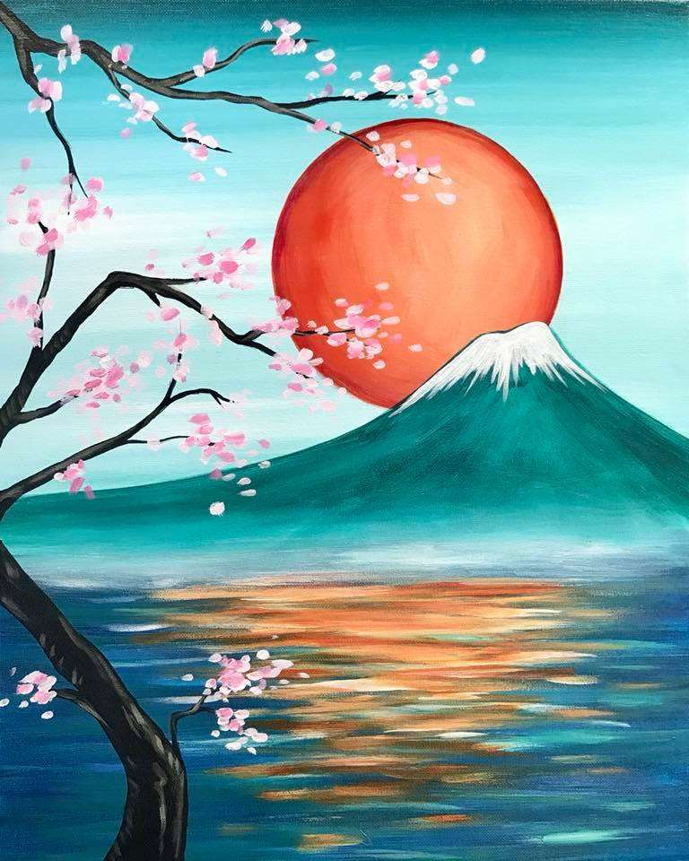 Japanese Rising Sun - In Studio Event - Limited Seating Available
