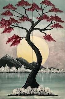 Japanese Winter Date Night