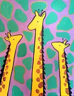 Jazzy Giraffes