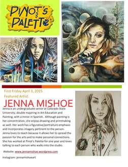 Jenna Mishoe First Friday