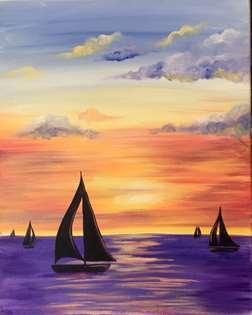 Jersey Shore Sunset