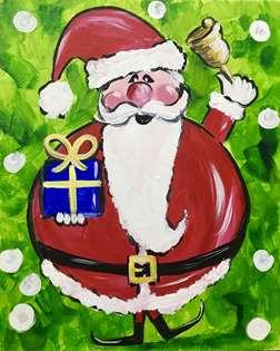 Jolly Christmas Santa