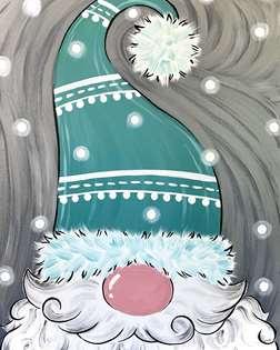 Jolly Peekaboo Gnome