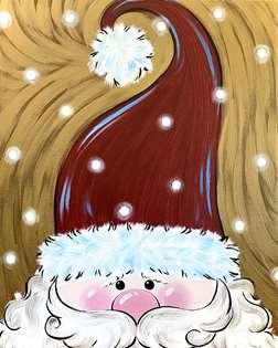 Jolly Peekaboo Santa