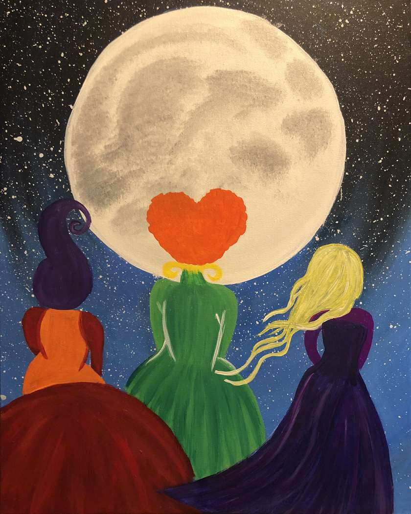 Coven  in the Moonlight