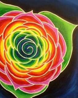 Kaleidoscope Rose