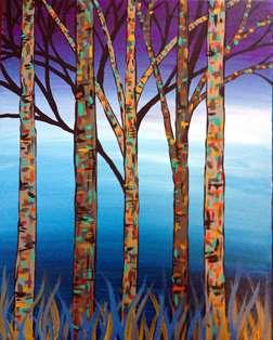 Kaleidoscopic Trees