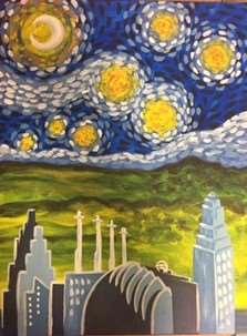 KC Starry Skyline