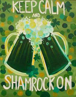 Keep Calm and Shamrock On