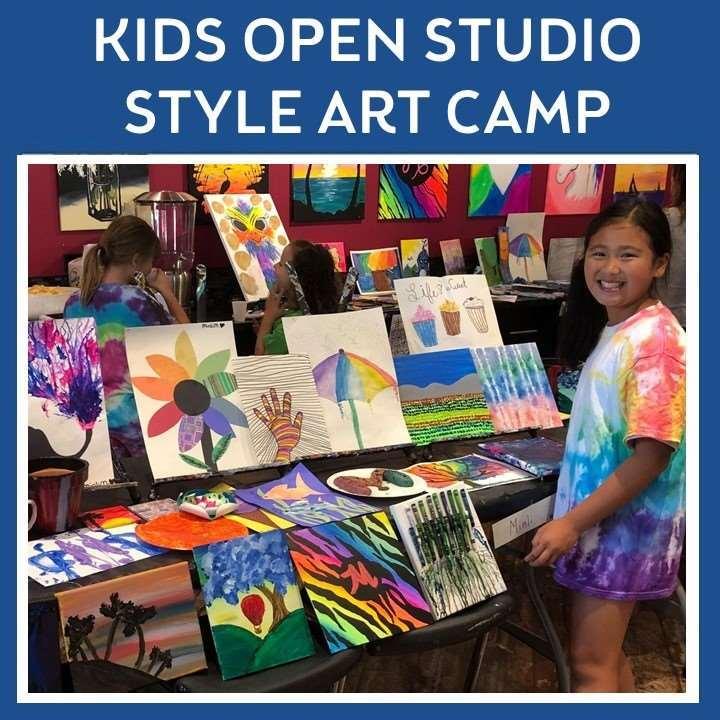 Kid's Open Studio Style Art Camp